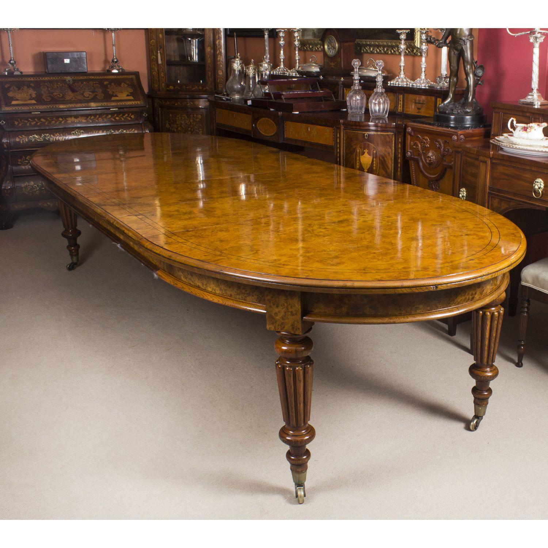 An Exquisite Antique Victorian Pollard Oak Extending Dining Table Circa 1840