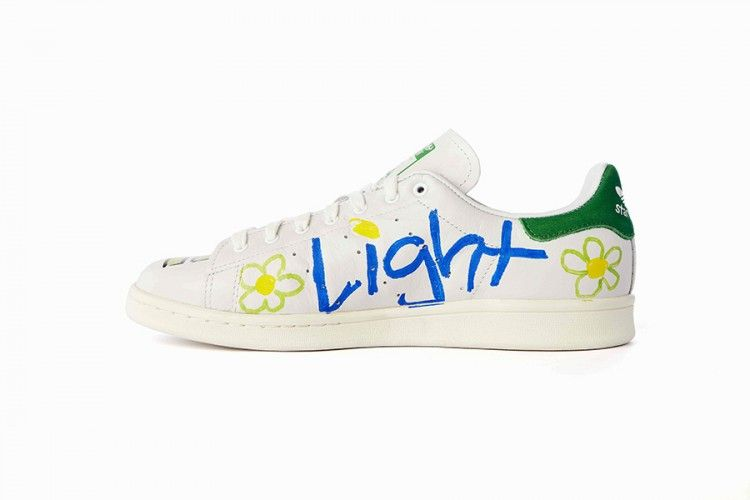 watch 28ad6 d069b adidas Stan Smiths customisées par Pharrell Williams  colette