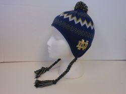 a8909e22c36 Notre Dame Kids Winter Hat With Ear Flaps www.IrishCampusApparel.com ...