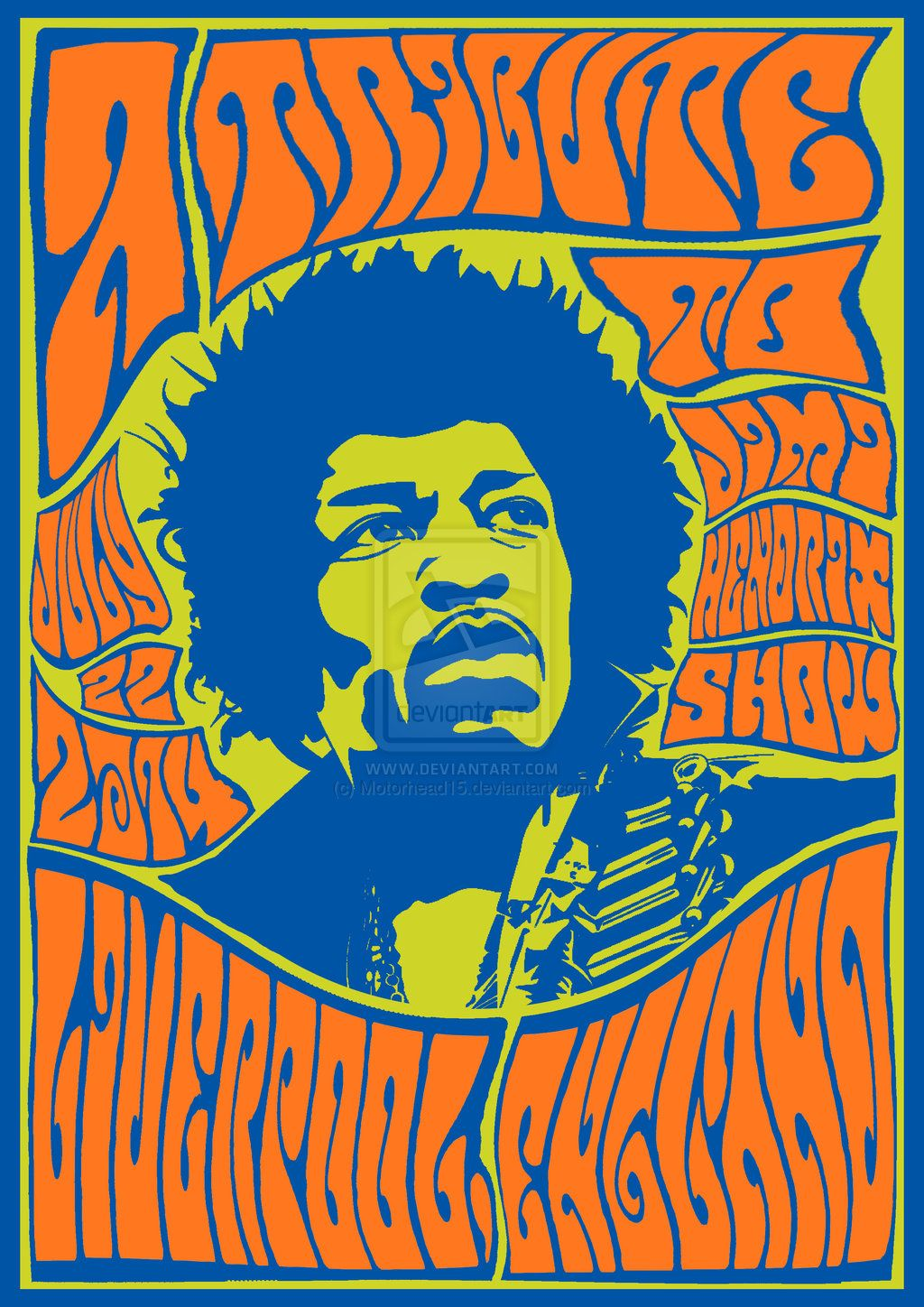Jimi Hendrix B&-W Track Records A1 paper psychedelic rock poster ...