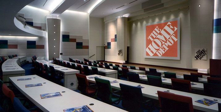 The home depot corporate headquarters warner summers architecture and interior design