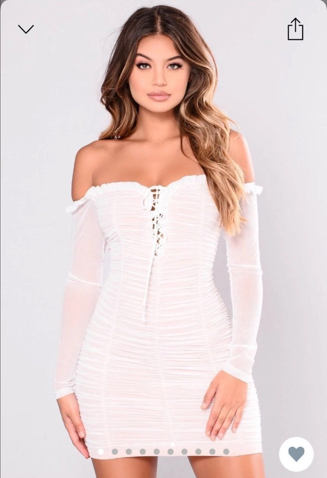 New with tags .. Super cute fashion nova Maura mesh dress