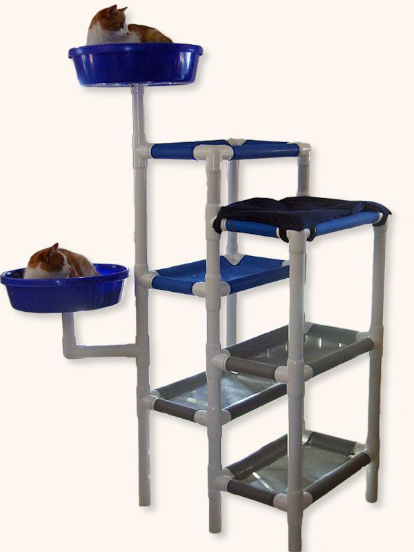 Feline Snoozers Pvc Cat Tower For The Home Pinterest