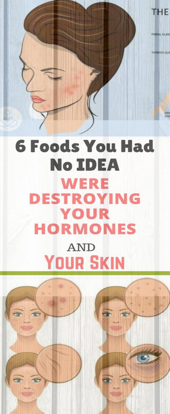 6 Foods You Had No Idea Were Destroying Your Hormones and Your Skin