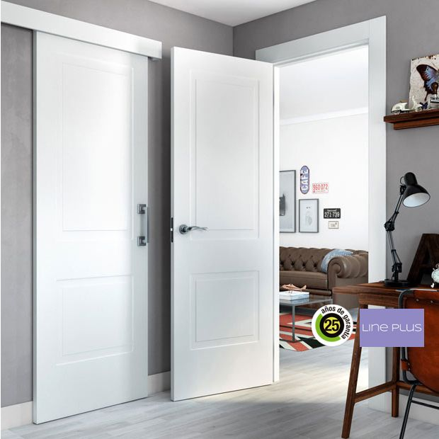 Puertas de interior de madera - Leroy Merlin | Armarios, puertas y ...