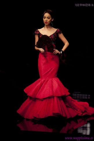 vestido flamenca rojo - Buscar con Google
