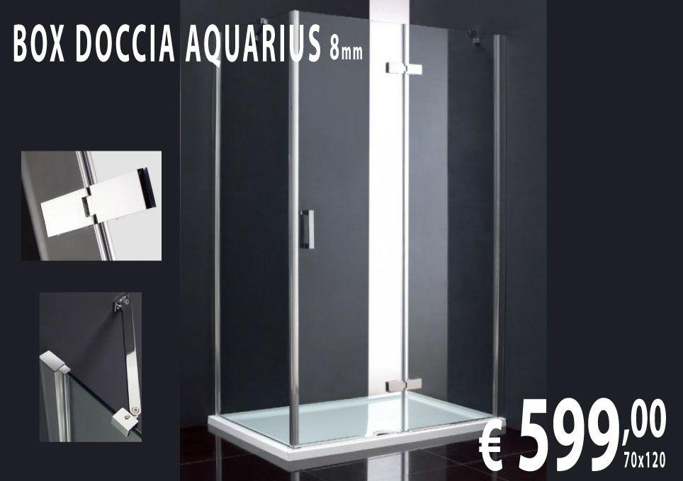 Prezzi Box Doccia.Box Doccia Aquarius Elegante Box Doccia Misure 70x120