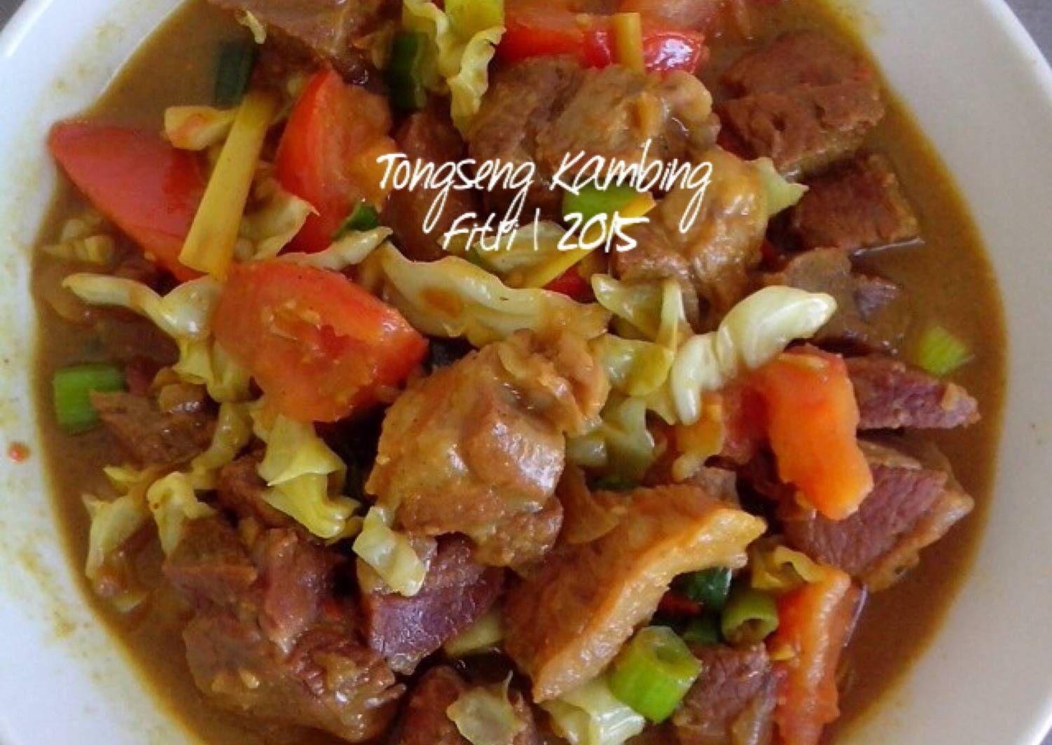 Resep Tongseng Kambing Cokies Recipes Food Food Recipies