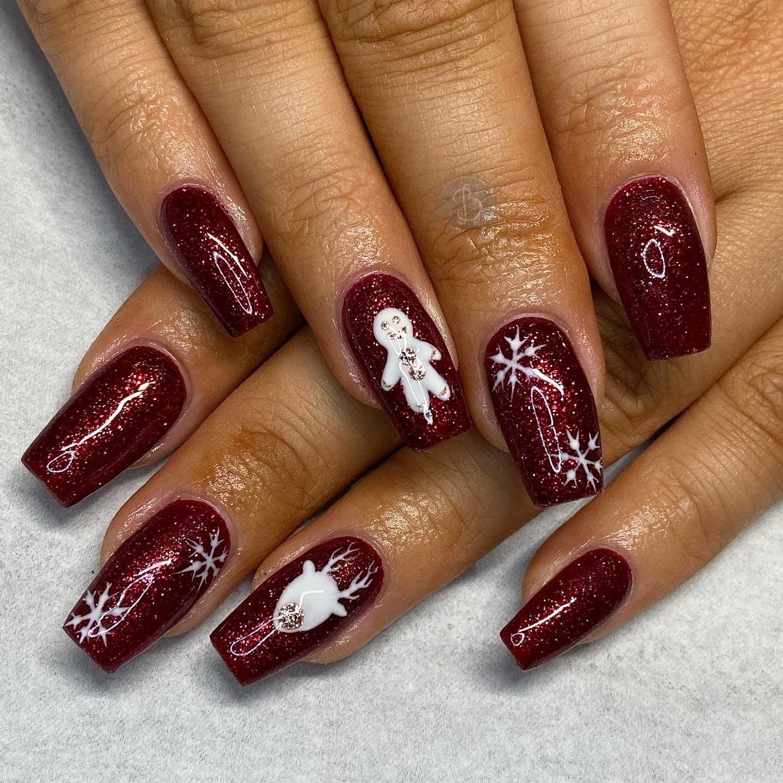 #nails #biab #magpieglitters #nailtech #nailsbybeff #Staffordshire #biddulph #cheshire #nailart #love #fashion #nailtechnician #scratchmagazine  #nailaddict #nailpro #showscratch #polish #nailfie #nailartist #christmasnails