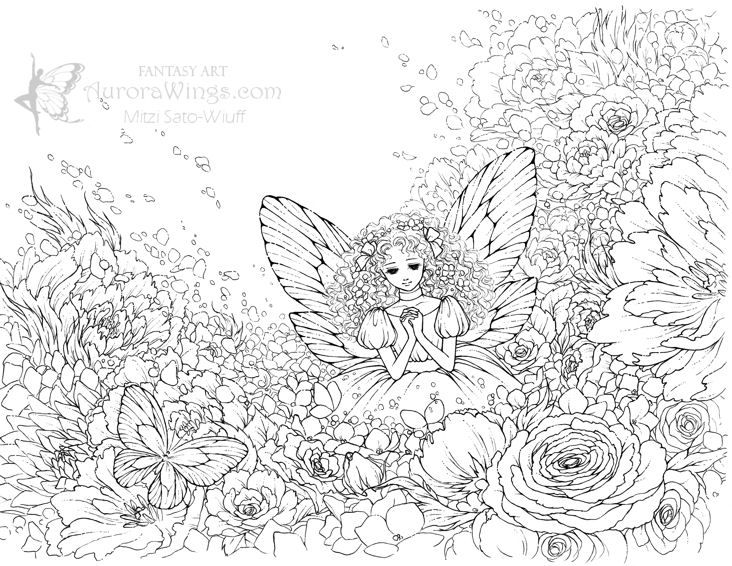 Fantasy Coloring Pages For Adults Friday, September 30