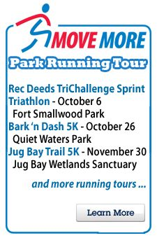 We Ve Got Some Great New Races In Our Move More Race Series Www Aacounty Org Recparks With Images Sprint Triathlon Moving Recreation