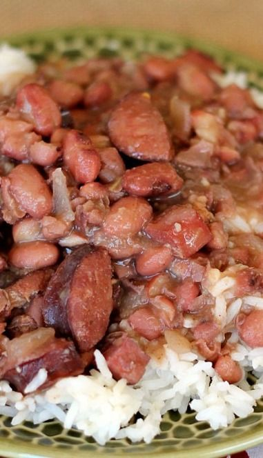 Photo of Slow Cooker Red Beans and Rice – The Weary Chef