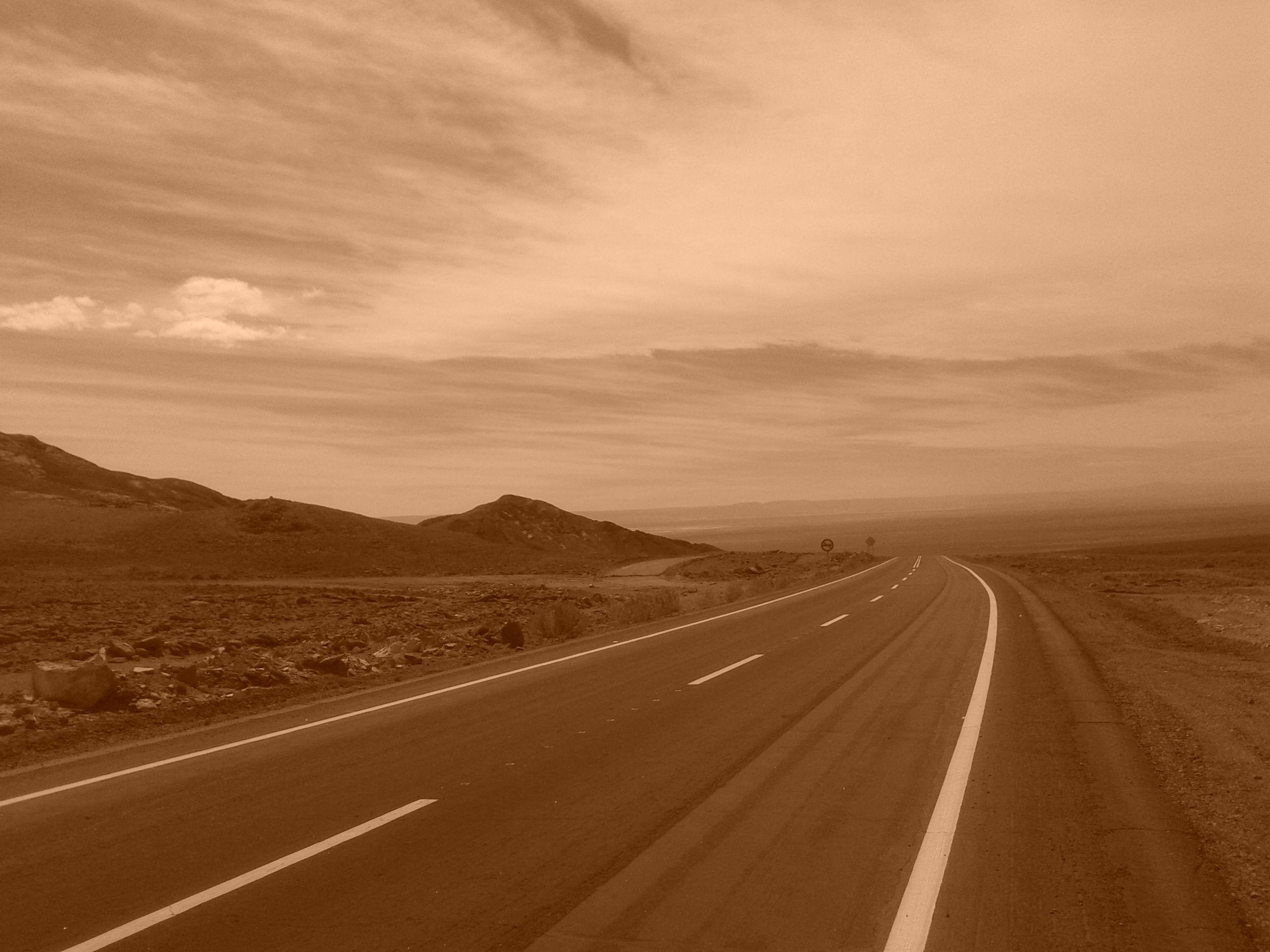 Desierto de Atacama, Camino a Socaire