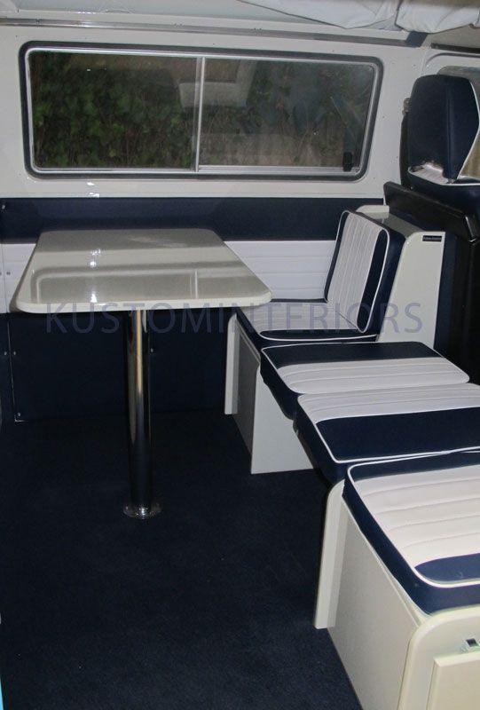 Camper Interior Gallery Showing Our Range Of VW Interiors From Kustom Based In Cornwall