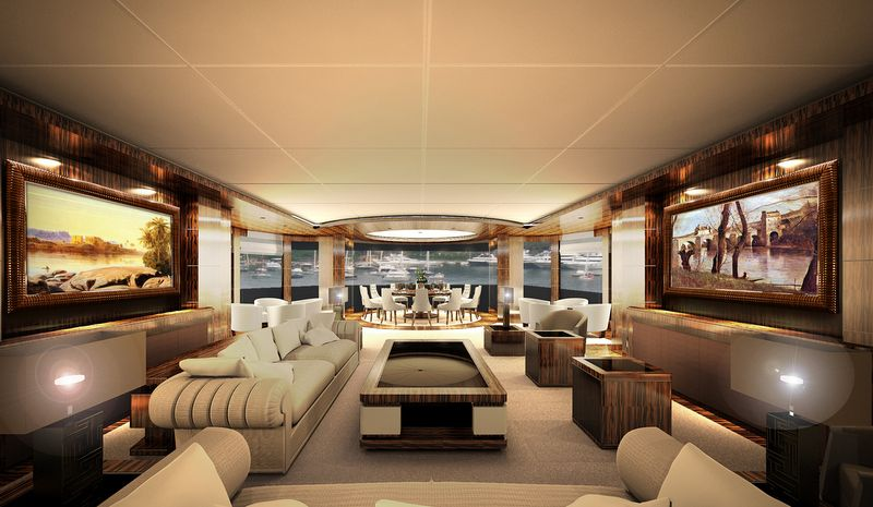 Luxusyachten innen  luxurious yacht interiors | Luxury Yachts Interior 67m luxury ...