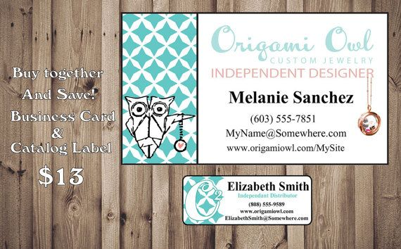 Origami owl business card catalog sticker by digidoodler on etsy items similar to origami owl business card catalog sticker on etsy colourmoves