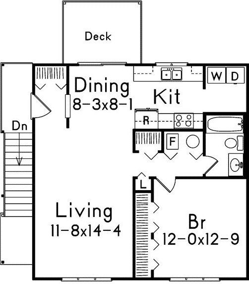 Garage Apartment Plans Two Car With Alp 05mn