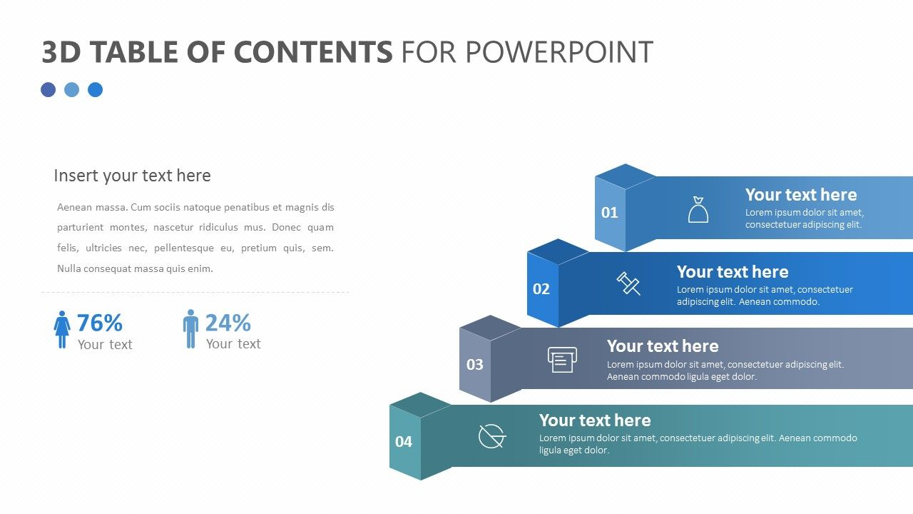 3d Table Of Contents For Powerpoint The 3d Table Of Contents For Powerpoint Allows You To Design A Powerpoint Business Powerpoint Templates Business Planning