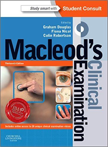 macleod's clinical examination 13th edition pdf تحميل