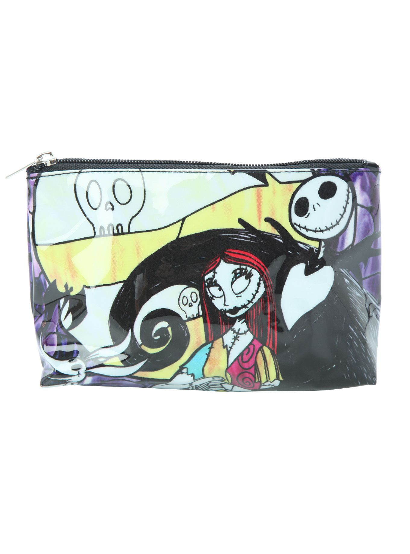 The Nightmare Before Christmas Jack & Sally Cosmetic Bag