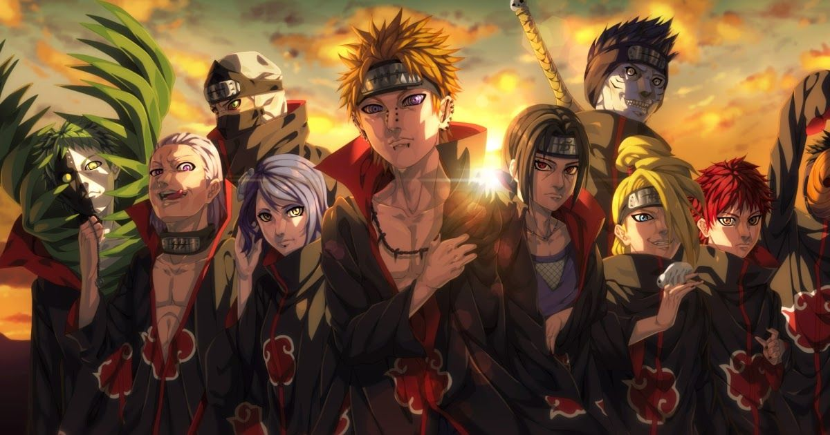 17 1080p Anime Wallpaper Hd For Pc 1920x1080 Akatsuki Organization Anime 1080p Laptop In 2020 1080p Anime Wallpaper Cool Anime Wallpapers Wallpaper Naruto Shippuden