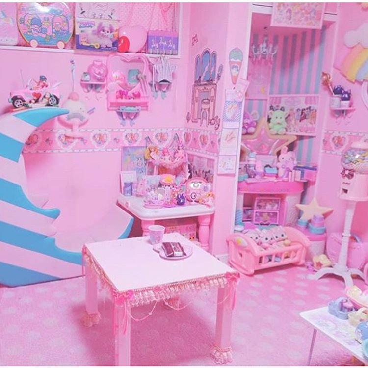 If You Have Your Own Room How Is It Decorated If You Could Have Your Dream Room How Would You Decorate It Kawaii Bedroom Cute Bedroom Ideas Kawaii Room