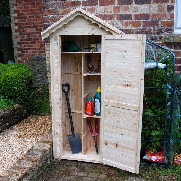 Small wooden shed reviews here at for Small tool shed