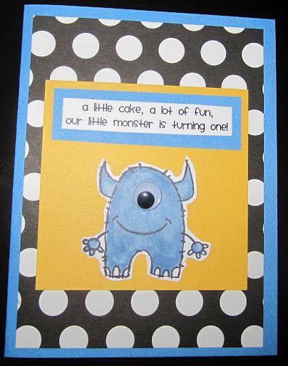 Lil Monster Birthday Party Invitation Wording