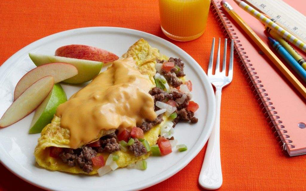 Cheeseburger Omelets Recipe Food recipes, Brunch
