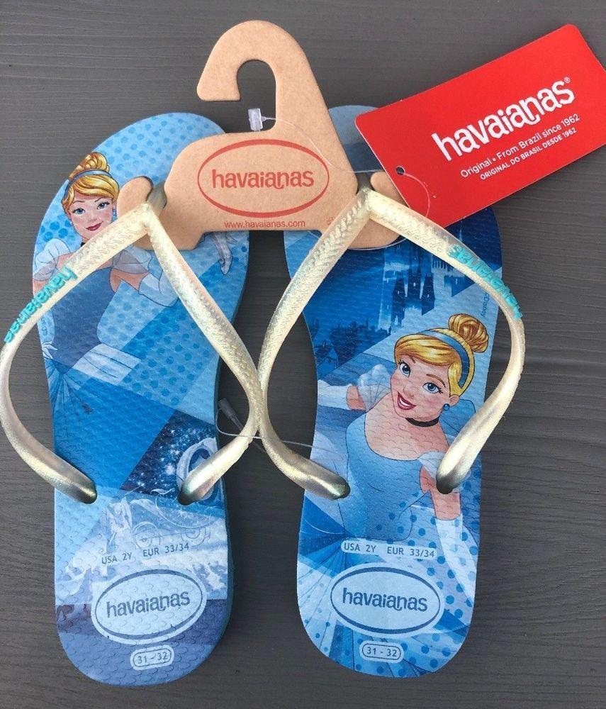 havaianas cinderella flip flops