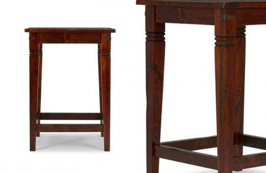 Bartisch Capri 80x80 Pinie massiv Holz Moebel Bar Küche - bartische für küche