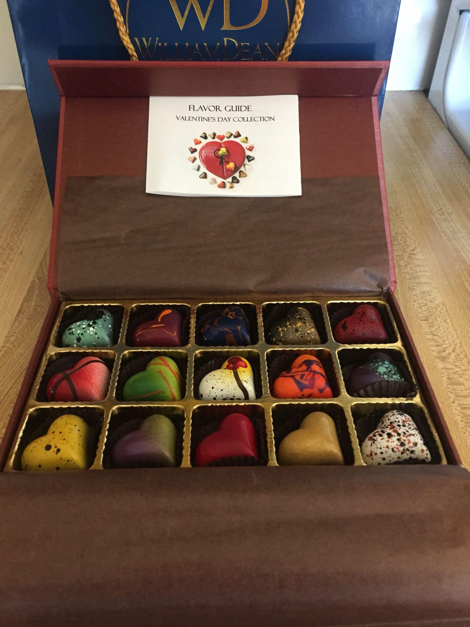 William Dean chocolates! Heart Art! Delish! | ❤ ON | Pinterest ...