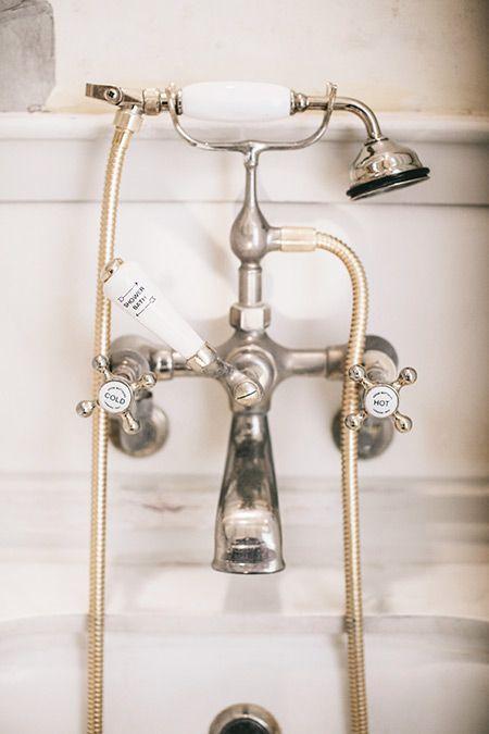 Nostalgie Wasserhahn im Bad « Ab Ins Bad » Pinterest