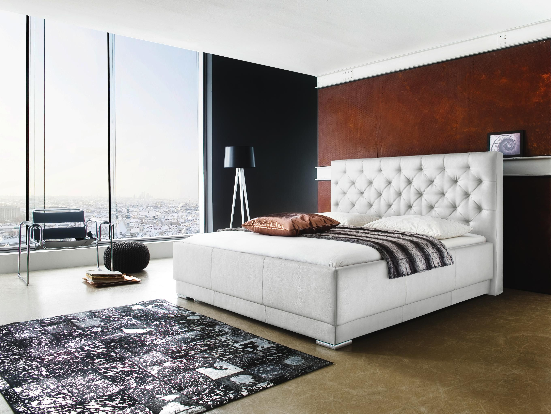 Schlafzimmer Joop ~ Weißes polsterbett von xora ein bett des himmels schlafzimmer