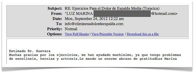 Testimonio 19 - Elimine Su Dolor de Espalda     http://www.ElimineSuDolorDeEspalda.com/blog