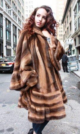 dd54a3ddd5 Marc Kaufman Furs Presents a whiskey demi mink fur stroller from Marc  Kaufman Furs New York
