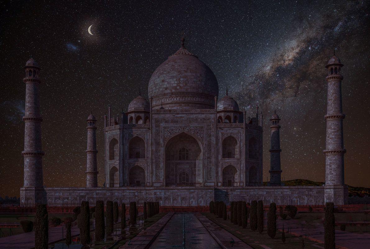 Индия.Тадж- Махал ночью. :: юрий макаров – Социальная сеть ...