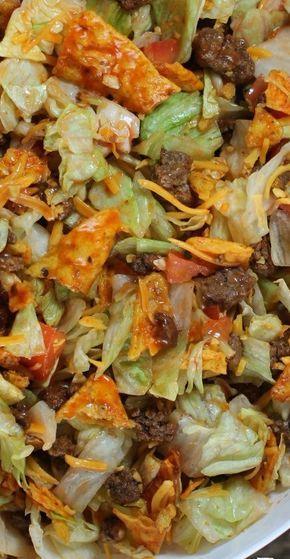 Doritos Taco Salad - Emily Bites #tacosalad