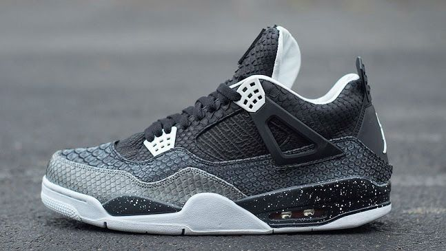 Lowest Price Nike Jordan 4 Cheap sale Python Customs By JBF