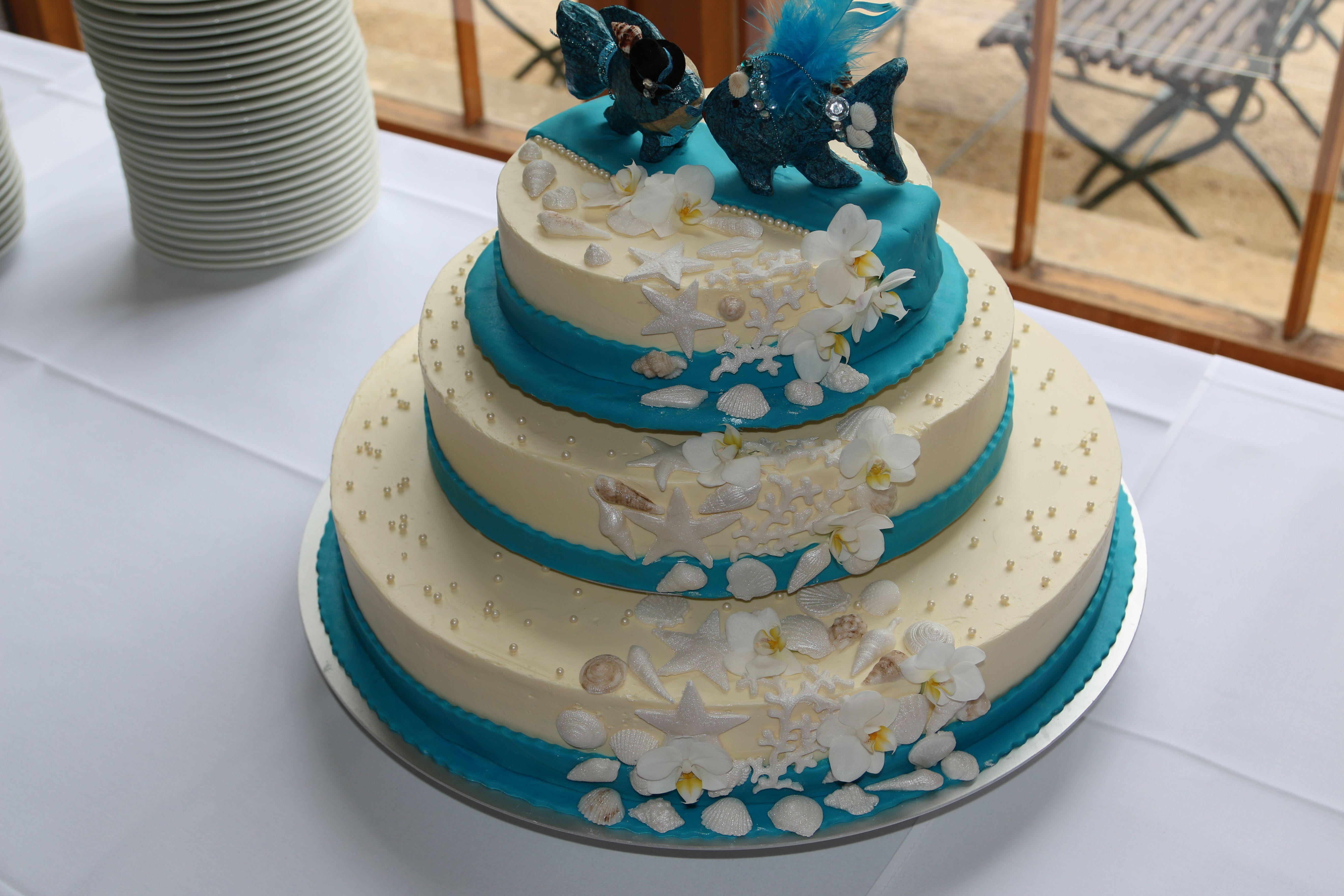 Hochzeitstorte Maritim Hochzeitstorte Pinterest