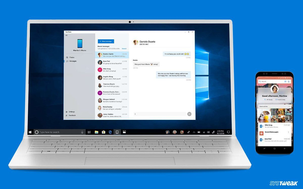 How to Use Your Phone App In Windows 10? Phone, Send
