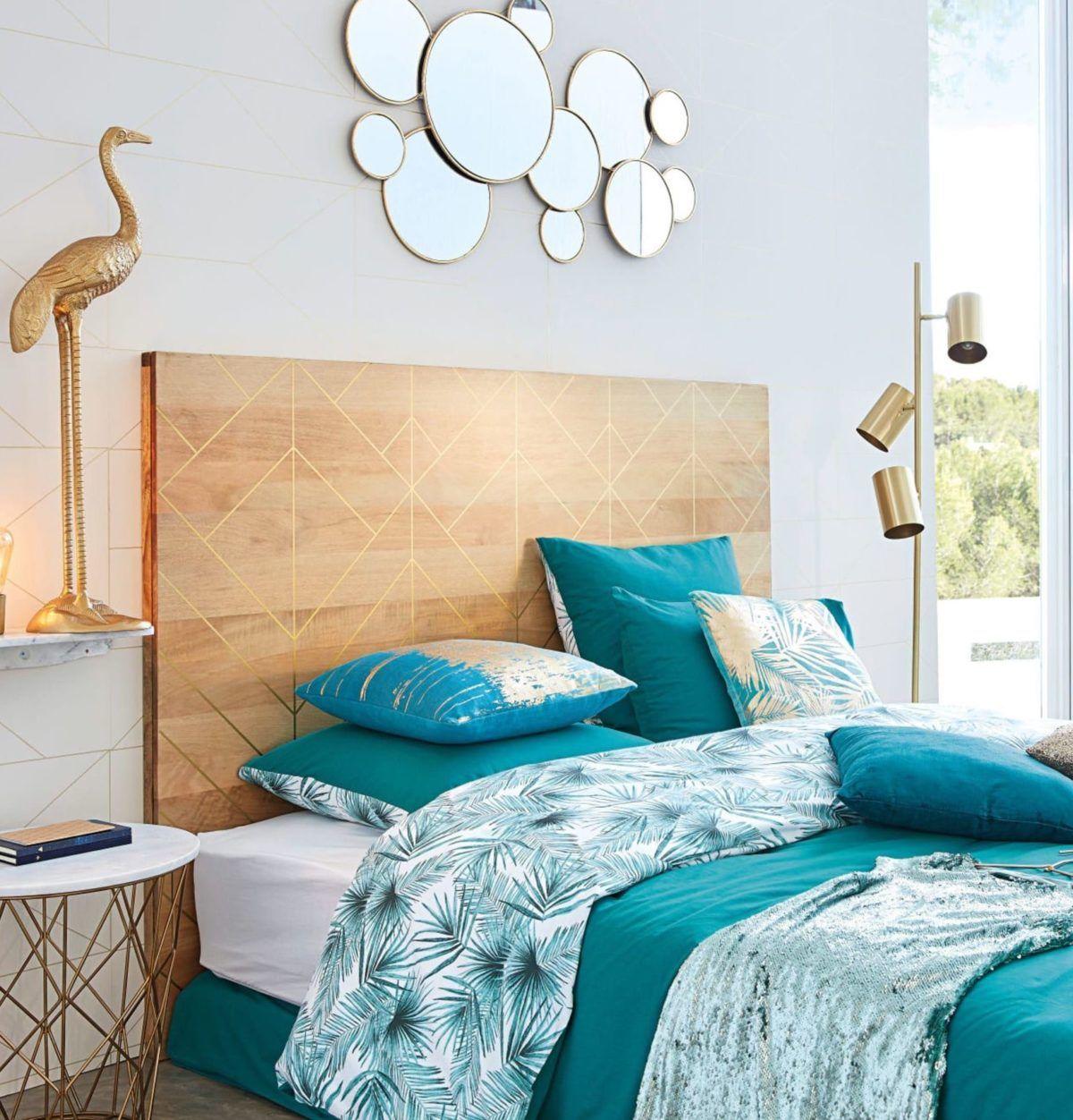 Ou trouver une tête de lit en bois flotté massif ou DIY - Blog