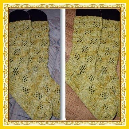 Strickdiwa´s Handarbeiten ... Kreuz & Quer: Socken ... die Zwanzigsten