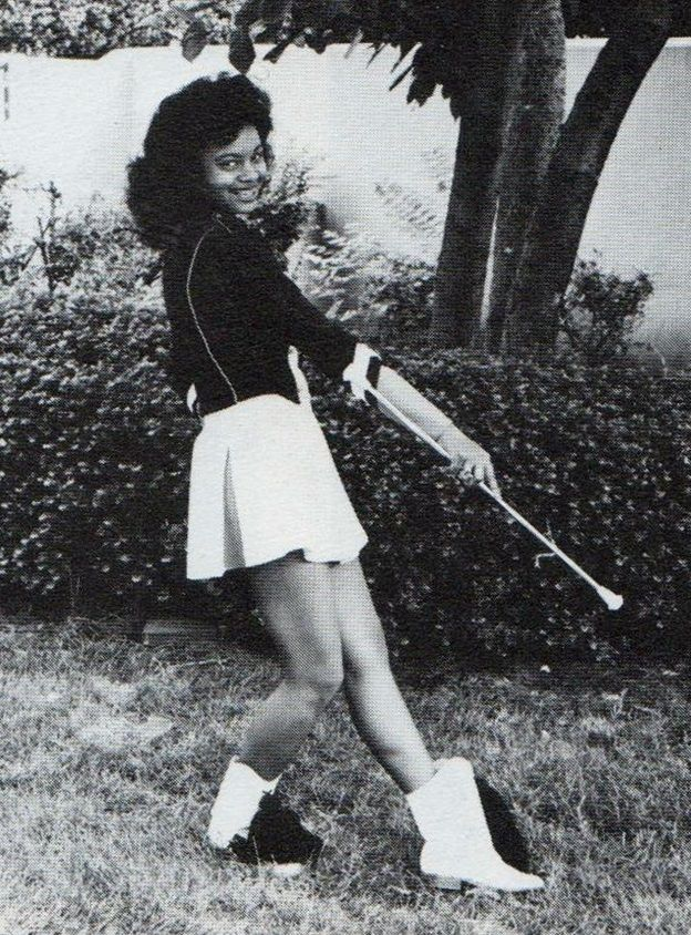 1985 East Majorette Twirling Majorette Cheerleading