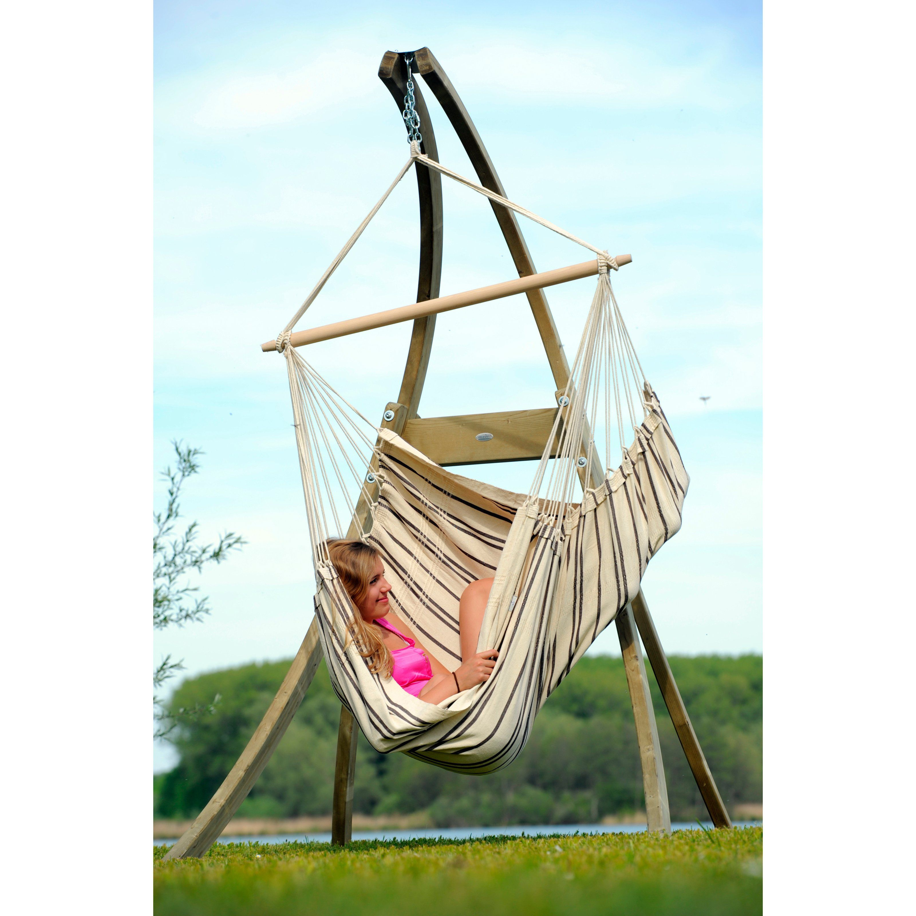 stand comfort stripe hammock ip swing and walmart com palm green soft with chair