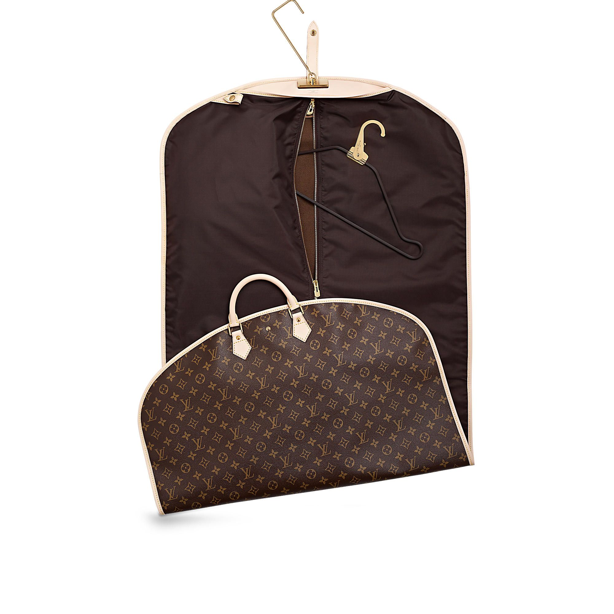 Louis Vuitton Handbags Monogram Suit Covers Garment Bags Canvas