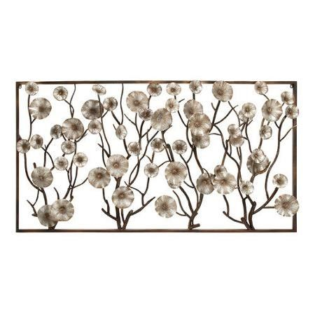 Woodland Imports Mesmerizing Unique Styled Metal Wall D