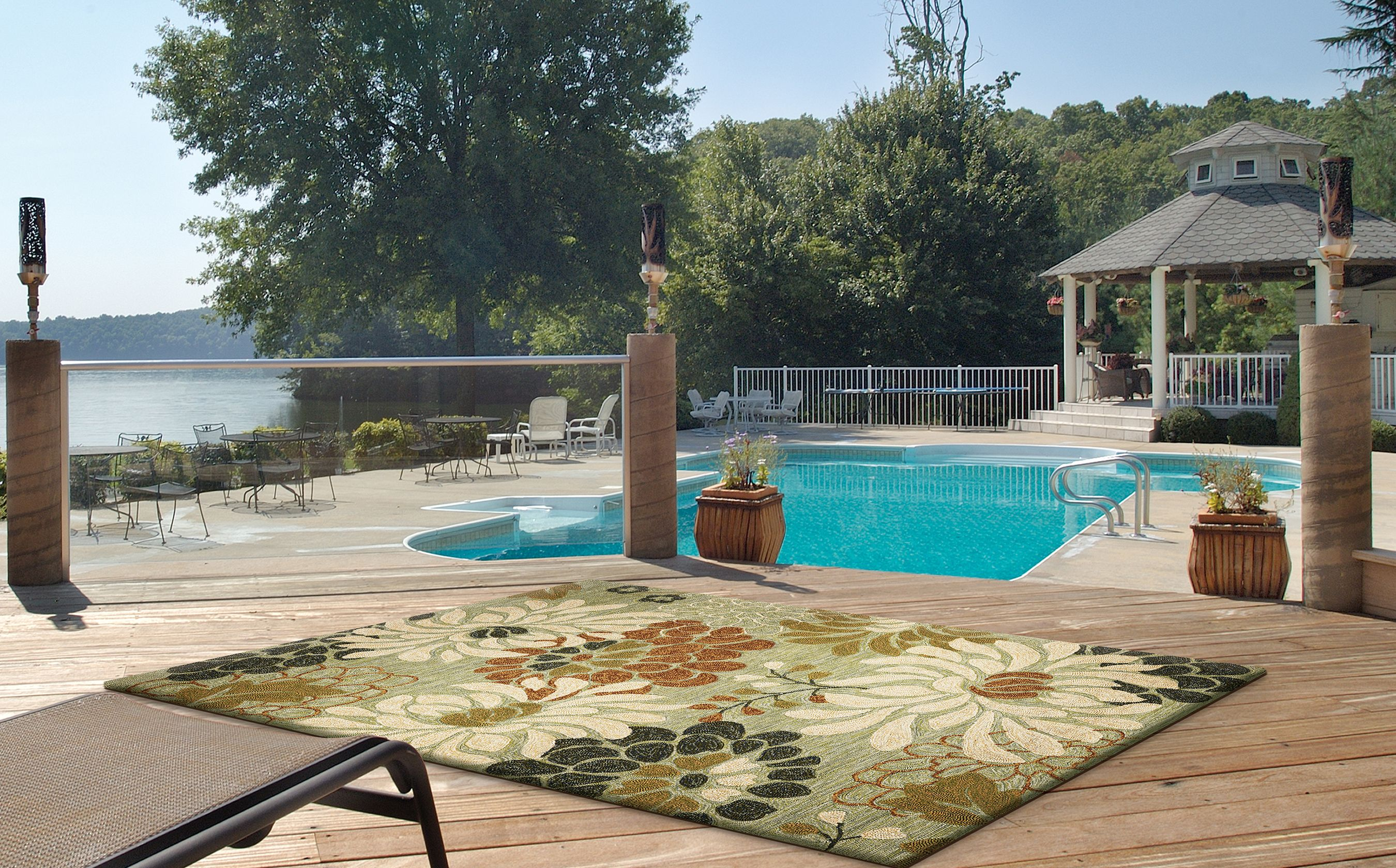 Liven Up Your Patio Or Lanai With A Beautiful Outdoor Rug Hundreds In Stock Daily And Multiple Sizes Available Indoor Outdoor Area Rugs Outdoor Rugs Outdoor