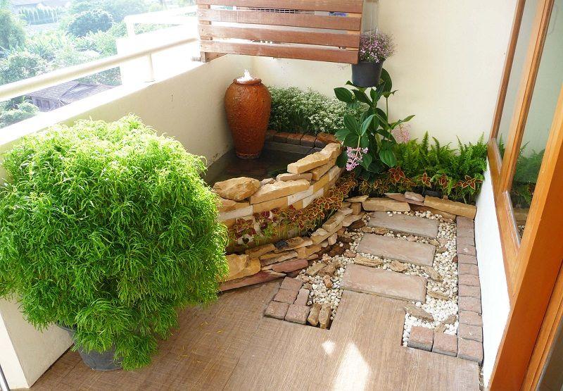 How to Make a Japanese Balcony Garden | Small japanese ... Zen Garden Design Minimalist Condo on condo in hanger design, beach condo design, contemporary condo design, modern condo design, condo interior design,