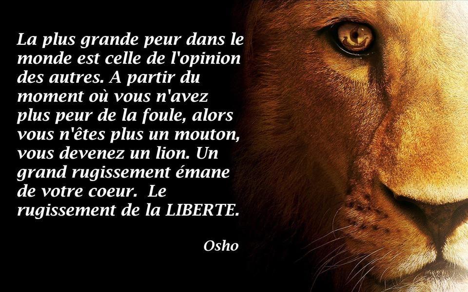 La plus grande peur dans le monde est celle de l'opinion des autres.. #inspiration #quotes